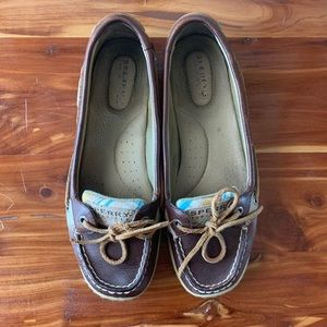 Brown Sperry's Women's Loafers